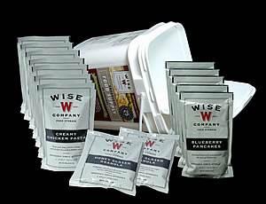 Wise Foods 56 Serving Bucket - 25 Year life